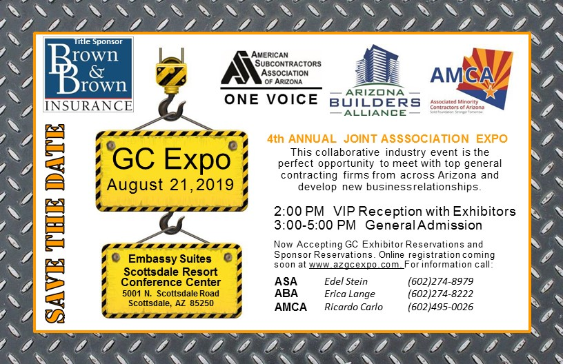 Save the Date for the GC Expo