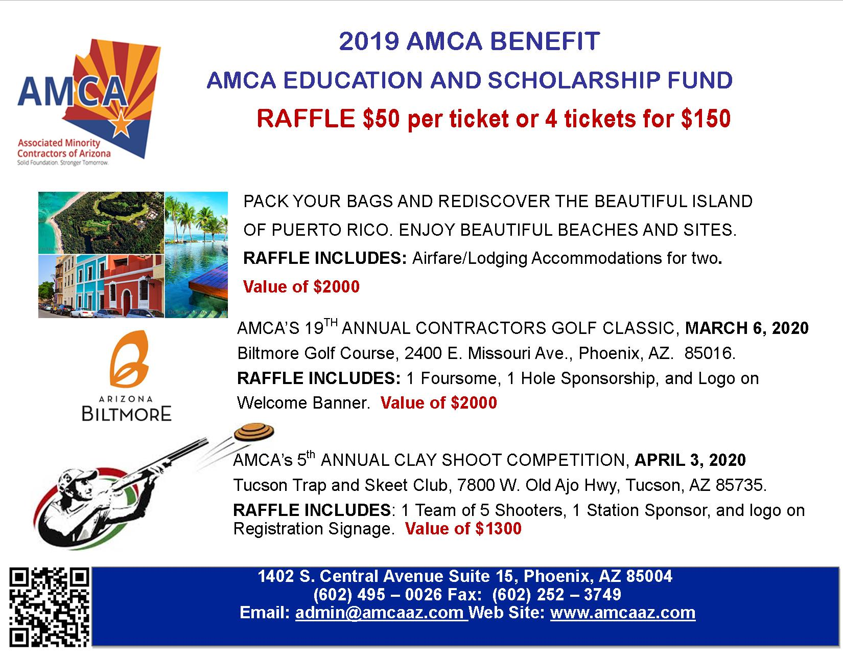 AMCA Education and Scholarship Fund Raffle Promotion